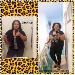 Jacinta lost 35 pounds