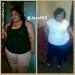 Jasmyn lost 48 pounds