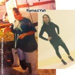 Update: RamaziYah lost 46 pounds