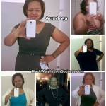 Aundrea lost 106 pounds