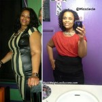Cleana lost 66 pounds