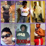 Doneshia lost 135 pounds