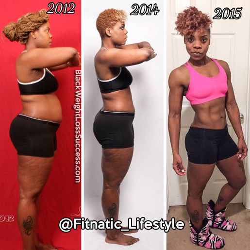 Lean And Strong Gayna Lost Over 50 Pounds Black Weight