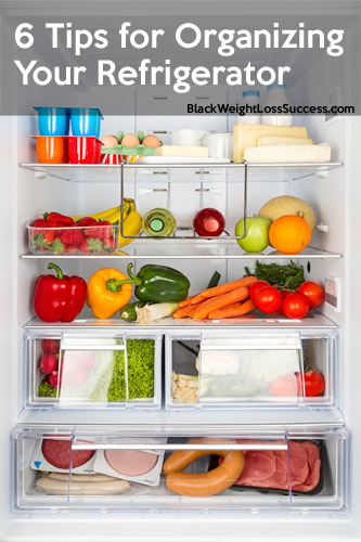 6 Tips for Organizing Your Refrigerator | Black Weight ... Organized Refrigerator Healthy