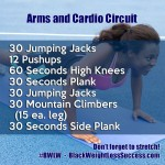 Arms and Cardio Circuit Workout