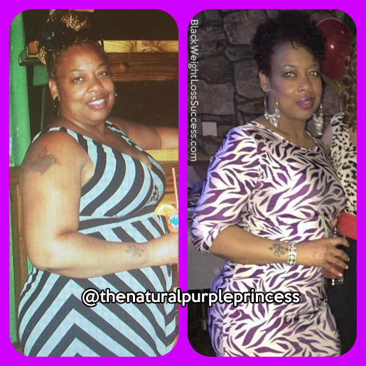 Avicia lost 78 pounds   Black Weight Loss Success