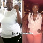 Keisha lost 95 pounds