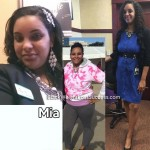 Mia lost 52 pounds