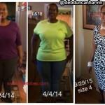 Update: Deborah lost 113 pounds