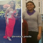 Brooklynn lost 54 pounds