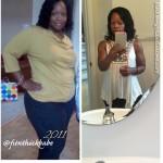 Chantel lost 69 pounds