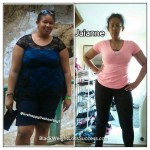 Jaianne lost 82 pounds