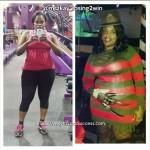 Kisha lost 69 pounds