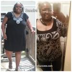 Sandra lost 44 pounds