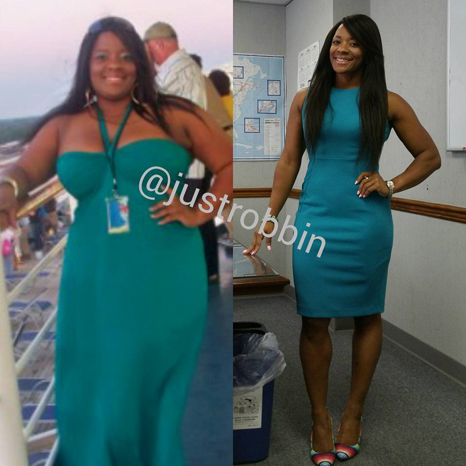 Robin's weight loss journey
