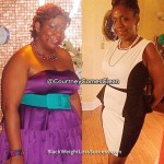 Courtney lost 46 pounds