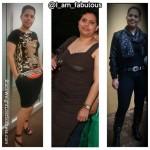 Fabiola lost 35 pounds