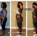 Jeanine lost 79 pounds