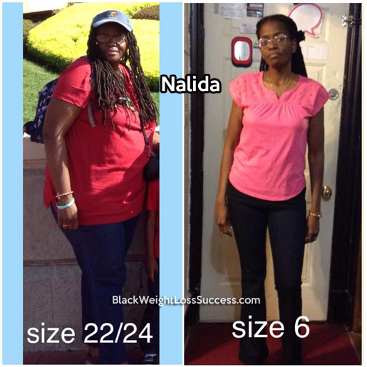Nalida lost 101 pounds | Black Weight Loss Success