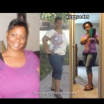 Tanisha lost 40 pounds