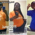 Tiara lost 44 pounds