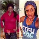 Tia lost 35 pounds
