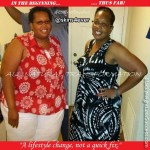 Yvonne lost 75 pounds