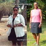 Marsha lost 108 pounds