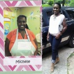 Michelle lost 126 pounds