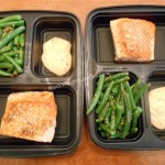Meal Prep: Seared Salmon with Creamy Cajun Sauce and Garlic Green Beans