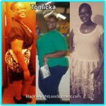 Tomicka lost 112 pounds