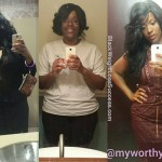 Aliyah lost 70 pounds