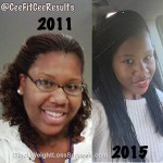 Charmaine lost 105 pounds