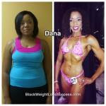 Dana lost 92 pounds