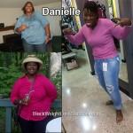 Danielle lost 169 pounds