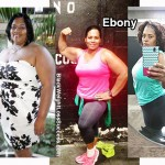 Ebony lost 136 pounds
