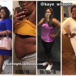 Kaye lost 51 pounds