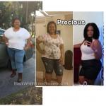 Precious lost 72 pounds