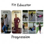 Fit Educator Vicki lost 5 dress sizes