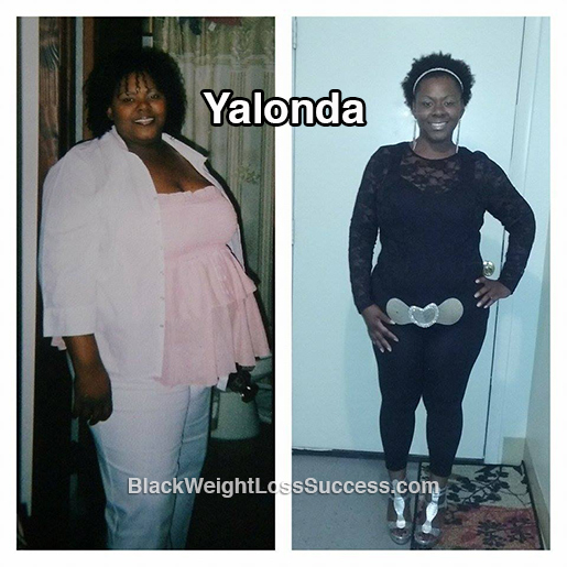 Yalonda lost 107 pounds | Black Weight Loss Success