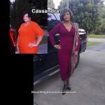 Cassandra lost 72 pounds