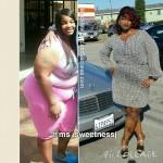 Je'Toi lost 70 pounds