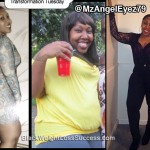 Angel lost 150 pounds