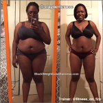 Rashonda lost 50 pounds
