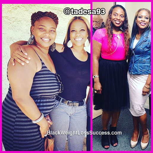 Tamara lost 105 pounds with surgery | Black Weight Loss ...