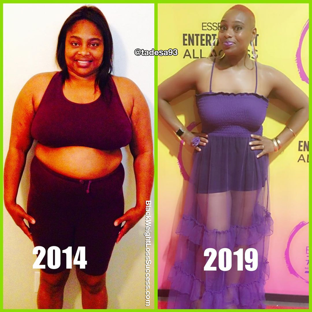 Tamara before and after