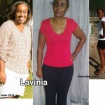 Lavinia lost 38 pounds