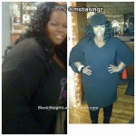 Tia lost over 100 pounds