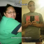 Alisha lost 105 pounds