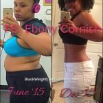 ebony weight loss story
